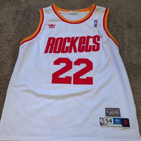 adidas Other - Clyde Drexler Houston Rockets Jersey f0b6616e8